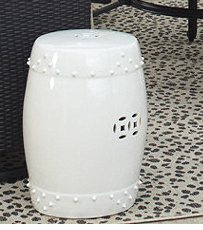 Garden Stool http://www.ballarddesigns.com/classic-garden-seat/furniture/living-room/accent/355391