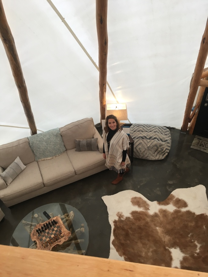 Spending the Night in a Tipi |