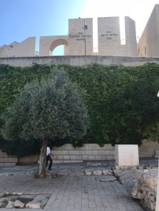 Observing the ancient under the shadow of the new in Jerusalem