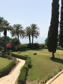 Serenity atop the Mount of Beatitudes
